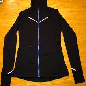 Navy blue zip up